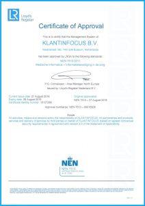 NEN Certificaat KLANTINFOCUS Engelse versie